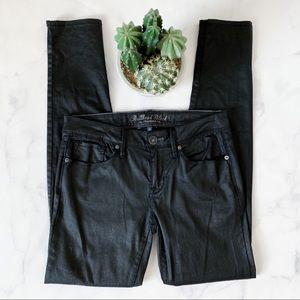 Bullhead Black Metallic Skinniest Jeans